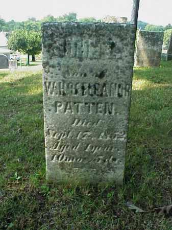PATTEN, JOHN L. - Meigs County, Ohio | JOHN L. PATTEN - Ohio Gravestone Photos