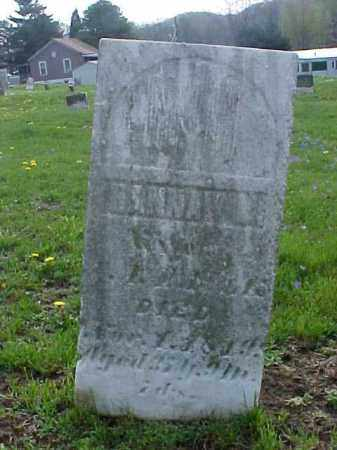 PAULK, HANNAH - Meigs County, Ohio | HANNAH PAULK - Ohio Gravestone Photos