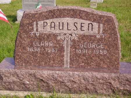 PAULSEN, GEORGE - Meigs County, Ohio | GEORGE PAULSEN - Ohio Gravestone Photos
