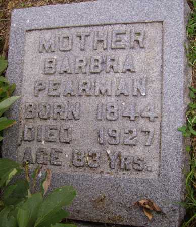 PEARMAN, BARBRA - Meigs County, Ohio | BARBRA PEARMAN - Ohio Gravestone Photos