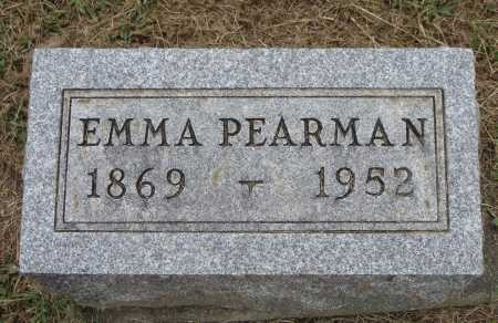 BUSH PEARMAN, EMMA - Meigs County, Ohio | EMMA BUSH PEARMAN - Ohio Gravestone Photos