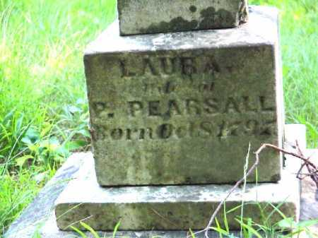PEARSALL, LAURA - Meigs County, Ohio | LAURA PEARSALL - Ohio Gravestone Photos