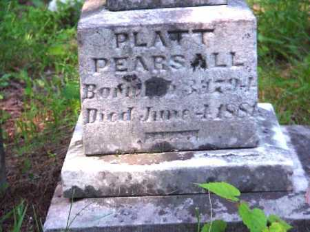 PEARSALL, PLATT - Meigs County, Ohio | PLATT PEARSALL - Ohio Gravestone Photos