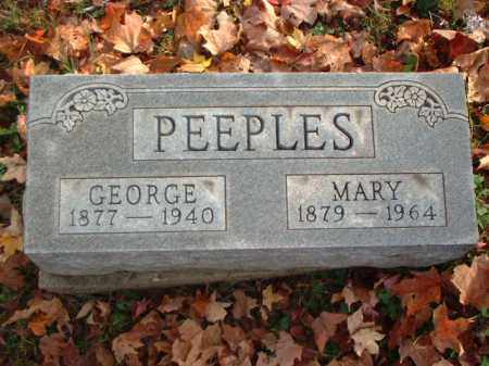 PEEPLES, GEORGE - Meigs County, Ohio | GEORGE PEEPLES - Ohio Gravestone Photos