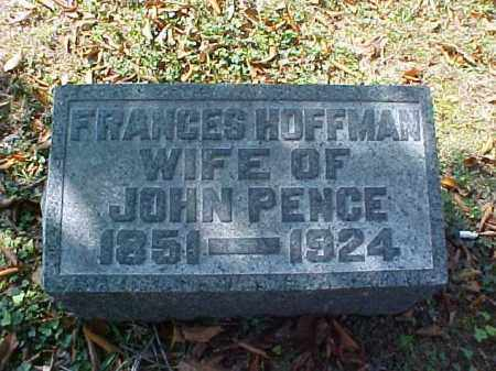 HOFFMAN PENCE, FRANCES - Meigs County, Ohio | FRANCES HOFFMAN PENCE - Ohio Gravestone Photos