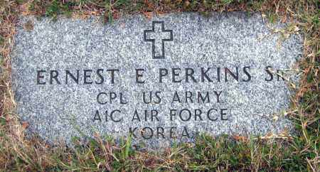 PERKINS, SR., ERNEST E. - Meigs County, Ohio | ERNEST E. PERKINS, SR. - Ohio Gravestone Photos