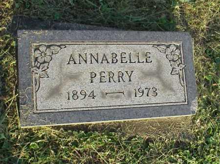 PERRY, ANNABELLE - Meigs County, Ohio | ANNABELLE PERRY - Ohio Gravestone Photos