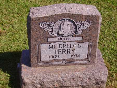 HALLIDAY PERRY, MILDRED G. - Meigs County, Ohio | MILDRED G. HALLIDAY PERRY - Ohio Gravestone Photos