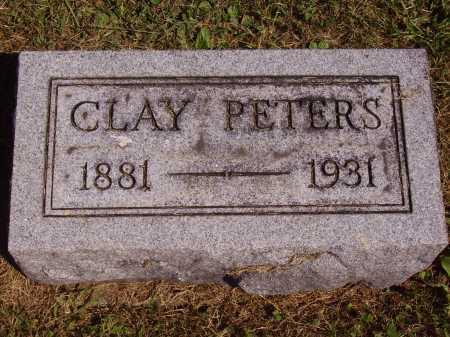 PETERS, CLAYTON - Meigs County, Ohio | CLAYTON PETERS - Ohio Gravestone Photos