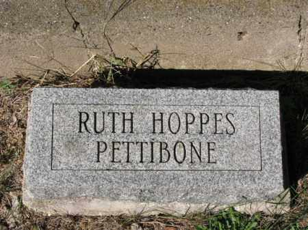 HOPPES PETTIBONE, RUTH - Meigs County, Ohio | RUTH HOPPES PETTIBONE - Ohio Gravestone Photos