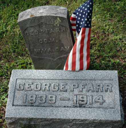 PFARR, GEORGE - Meigs County, Ohio | GEORGE PFARR - Ohio Gravestone Photos