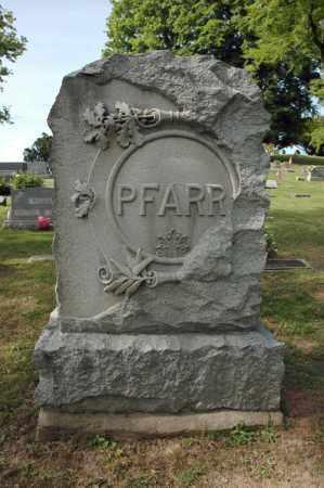 PFARR, MONUMENT - Meigs County, Ohio   MONUMENT PFARR - Ohio Gravestone Photos