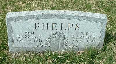 PHELPS, DESSIE E. - Meigs County, Ohio | DESSIE E. PHELPS - Ohio Gravestone Photos