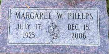 WERRY PHELPS, MARGARET - Meigs County, Ohio | MARGARET WERRY PHELPS - Ohio Gravestone Photos