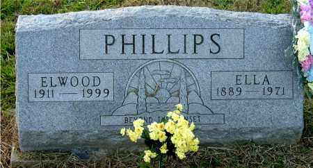 PHILLIPS, ELWOOD P. - Meigs County, Ohio | ELWOOD P. PHILLIPS - Ohio Gravestone Photos