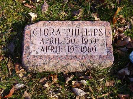PHILLIPS, GLORA - Meigs County, Ohio | GLORA PHILLIPS - Ohio Gravestone Photos