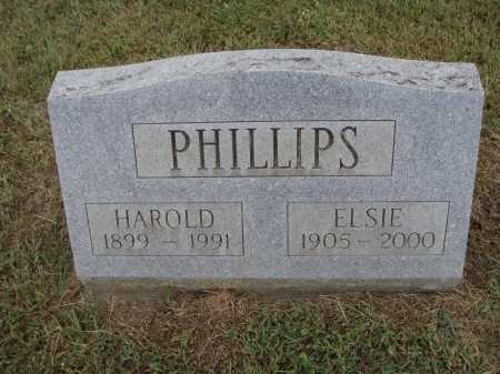 PHILLIPS, HAROLD - Meigs County, Ohio | HAROLD PHILLIPS - Ohio Gravestone Photos
