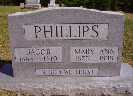 PHILLIPS, JACOB - Meigs County, Ohio | JACOB PHILLIPS - Ohio Gravestone Photos
