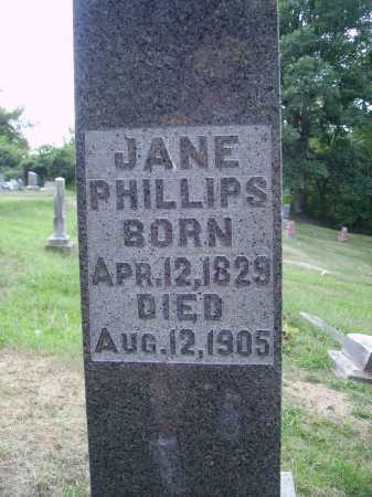 PHILLIPS, JANE - CLOSE VIEW - Meigs County, Ohio | JANE - CLOSE VIEW PHILLIPS - Ohio Gravestone Photos