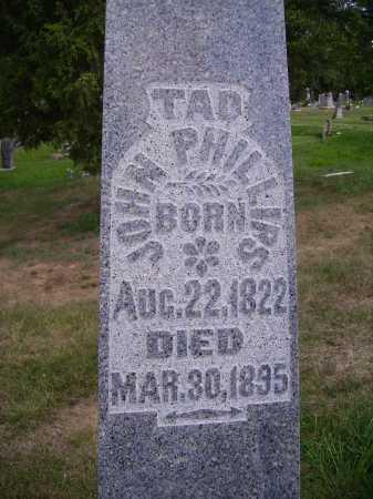 PHILLIPS, JOHN TAD - Meigs County, Ohio | JOHN TAD PHILLIPS - Ohio Gravestone Photos