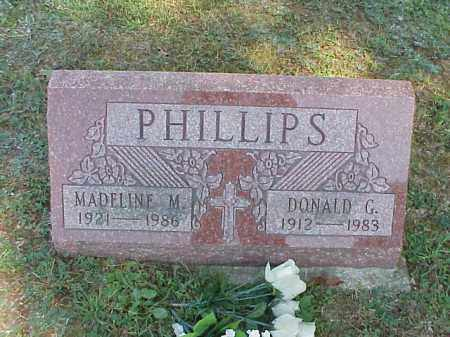 PHILLIPS, DONALD G. - Meigs County, Ohio | DONALD G. PHILLIPS - Ohio Gravestone Photos
