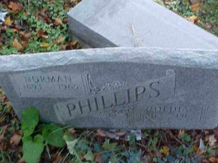 PHILLIPS, NORMAN - Meigs County, Ohio | NORMAN PHILLIPS - Ohio Gravestone Photos