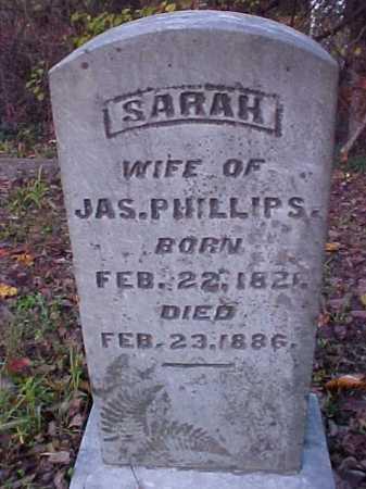PHILLIPS, SARAH - Meigs County, Ohio | SARAH PHILLIPS - Ohio Gravestone Photos