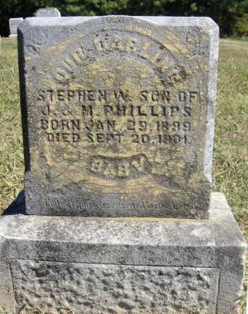 PHILLIPS, STEPHEN W. - Meigs County, Ohio | STEPHEN W. PHILLIPS - Ohio Gravestone Photos