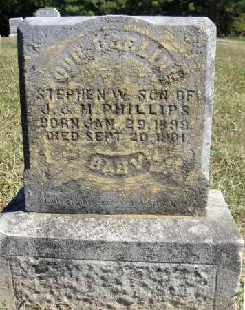 PHILLIPS, STEPHEN W. - Meigs County, Ohio | STEPHEN W. PHILLIPS - Ohio Gravestone Photos