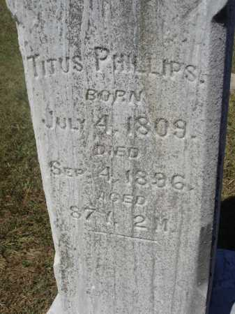 PHILLIPS, TITUS - Meigs County, Ohio | TITUS PHILLIPS - Ohio Gravestone Photos