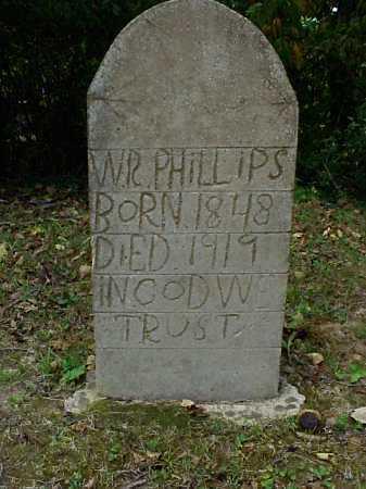 PHILLIPS, W.R. - Meigs County, Ohio   W.R. PHILLIPS - Ohio Gravestone Photos