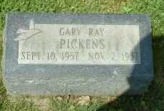 PICKENS, GARY RAY - Meigs County, Ohio   GARY RAY PICKENS - Ohio Gravestone Photos