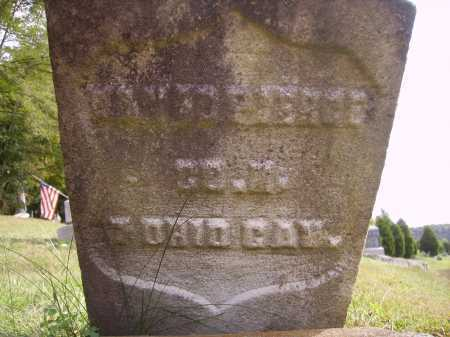 PIERCE, DAVID - Meigs County, Ohio | DAVID PIERCE - Ohio Gravestone Photos