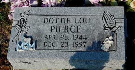 PIERCE, DOTTIE LOU - Meigs County, Ohio | DOTTIE LOU PIERCE - Ohio Gravestone Photos