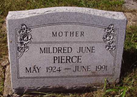 PIERCE, MILDRED JUNE - Meigs County, Ohio | MILDRED JUNE PIERCE - Ohio Gravestone Photos