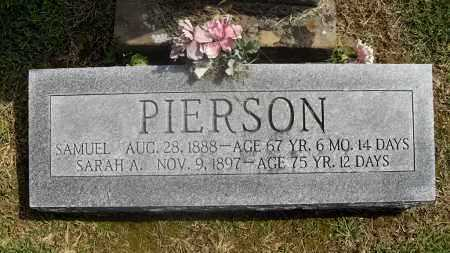 PIERSON, SAMUEL - Meigs County, Ohio | SAMUEL PIERSON - Ohio Gravestone Photos