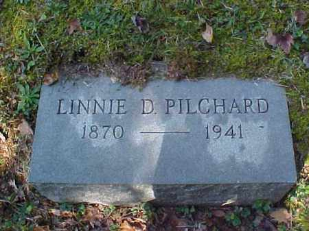 PILCHARD, LINNIE D. - Meigs County, Ohio | LINNIE D. PILCHARD - Ohio Gravestone Photos
