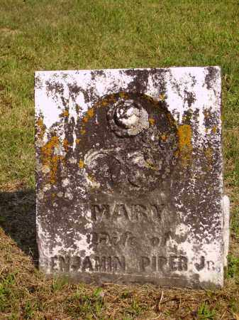 PIPER, MARY - Meigs County, Ohio | MARY PIPER - Ohio Gravestone Photos