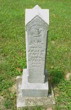 PIPER, VELMA - Meigs County, Ohio   VELMA PIPER - Ohio Gravestone Photos