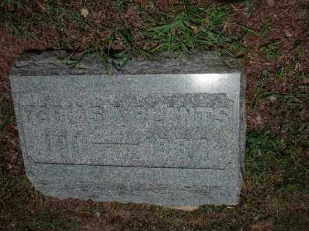 PLANTS, TOBIAS A. - Meigs County, Ohio | TOBIAS A. PLANTS - Ohio Gravestone Photos