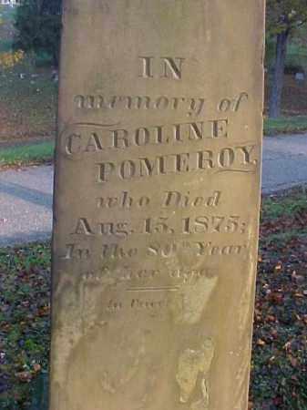 POMEROY, CAROLINE - Meigs County, Ohio   CAROLINE POMEROY - Ohio Gravestone Photos
