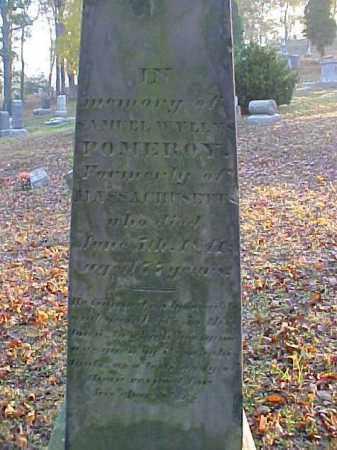 POMEROY, SAMUEL WYLLYS - Meigs County, Ohio | SAMUEL WYLLYS POMEROY - Ohio Gravestone Photos