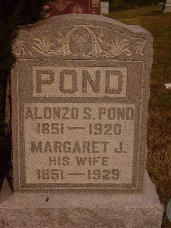 POND, MARGARET J. - Meigs County, Ohio | MARGARET J. POND - Ohio Gravestone Photos