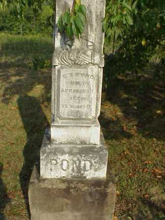 POND, ELISHA T. - Meigs County, Ohio | ELISHA T. POND - Ohio Gravestone Photos