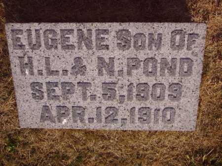POND, EUGENE - Meigs County, Ohio | EUGENE POND - Ohio Gravestone Photos