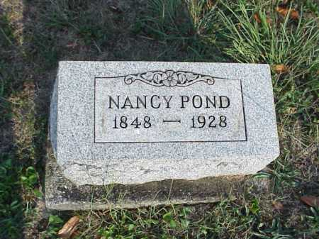 POND, NANCY (NETTIE) ANNISE - Meigs County, Ohio | NANCY (NETTIE) ANNISE POND - Ohio Gravestone Photos