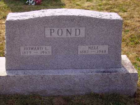 POND, HOWARD L. - Meigs County, Ohio | HOWARD L. POND - Ohio Gravestone Photos