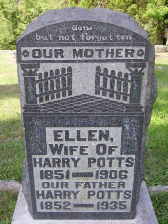 POTTS, ELLEN - Meigs County, Ohio | ELLEN POTTS - Ohio Gravestone Photos
