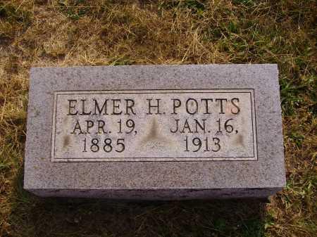 POTTS, ELMER HOLLAND - Meigs County, Ohio | ELMER HOLLAND POTTS - Ohio Gravestone Photos