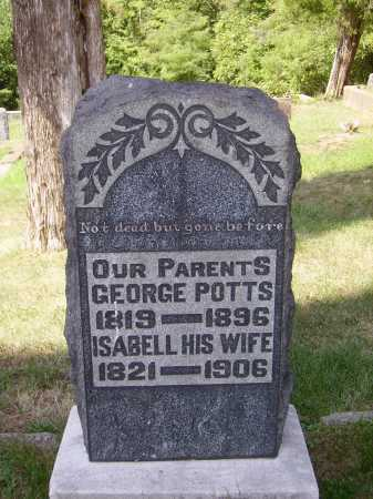 POTTS, GEORGE - Meigs County, Ohio | GEORGE POTTS - Ohio Gravestone Photos